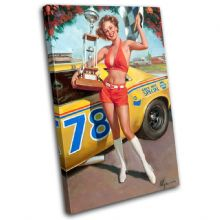 Vintage Girl Retro Pin-ups - 13-2085(00B)-SG32-PO